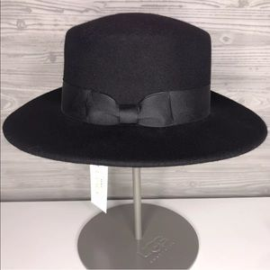 Lack Of Color The Muse Boater Black Wool Hat S/M